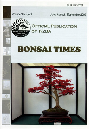 Bonsai Times July August September 2009