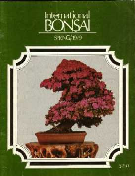 International Bonsai, Spring 1979